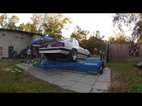 408 Stroker Mustang Fox Body Coupe on Dyno 0-100 mph pull