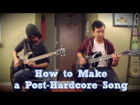 How To: Make a Post-Hardcore Song in 6 Min or Less (+ Full Song at the End) || Shady Cicada