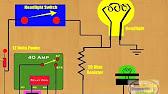 How To Fix Lights On Warning Buzzer - YouTube  Yaris Radio Wiring Diagram on
