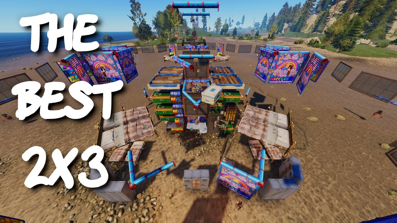 RUST - Taking a 2x3 To The NEXT LEVEL - Rust Base Design