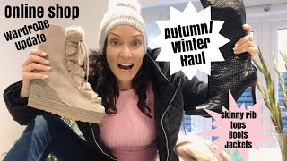 Autumn/Winter clothes haul and update. Unboxing from Zalando, Boohoo and Missguided