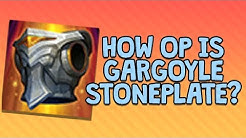 HOW OP IS GARGOYLE STONEPLATE?