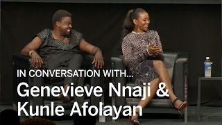 GENEVIEVE NNAJI  KUNLE AFOLAYAN In Conversation With  TIFF 2016