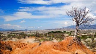 Colombia backpacker deutsch, Punta Galinas, Desierto de la Tatacoa- by XIPIfilms
