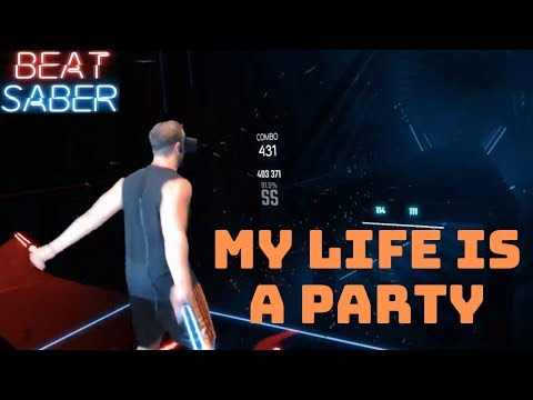 Beat Saber || My Life Is A Party By Italobrothers || Expert Mixed Reality