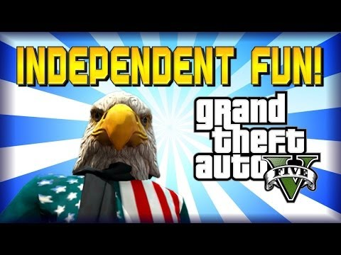 Fun Compilation of the NEW Independence Day Update! GTA 5 Online DLC