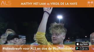 Matthy in ademnood tijdens battle met politievlogger Virgil #TakeABreath