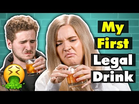 21 Year Olds Try Drinks For The First Time | People Vs. Food
