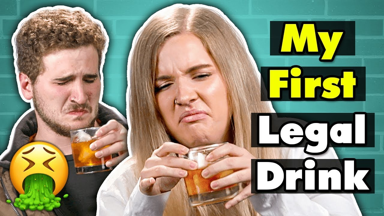 Download 21 Year Olds Try Drinks For The First Time   People Vs. Food