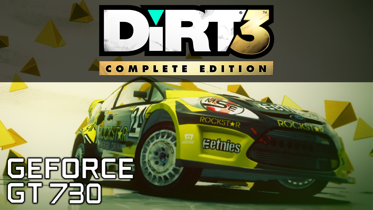 dirt 3 complete edition benchmark gt 730 2gb youtube. Black Bedroom Furniture Sets. Home Design Ideas
