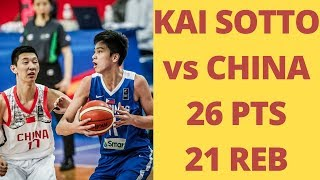 Philippines Vs. China FULL HIGHLIGHTS | FIBA Asia U16 | Kai Sotto Dream Shake