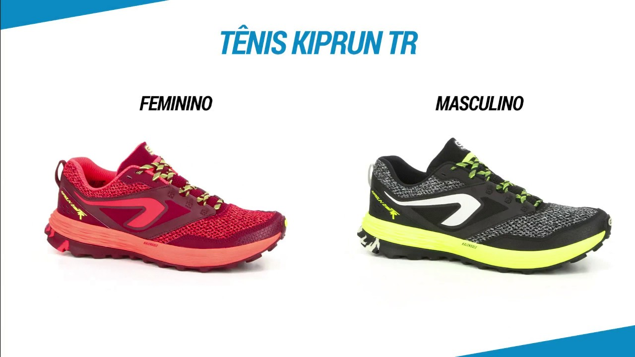 ae5166949a Tênis Kiprun TR Kalenji - Exclusividade Decathlon - YouTube
