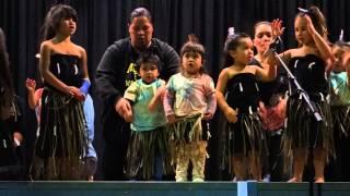 Otawhiwhi te kohanga reo performs at Waihi Matariki Celebration