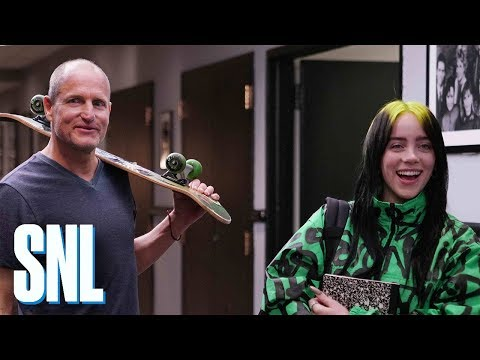 Woody Harrelson & Billie Eilish Tease 'SNL' Season Premiere