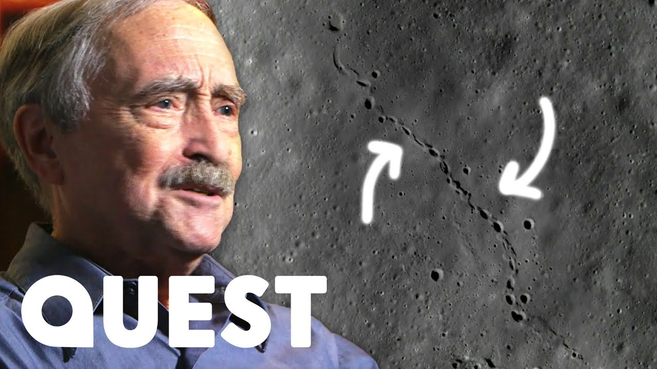 Scientists Find Unusual, Non-Human Footprints On The Moon | NASA's Unexplained Files