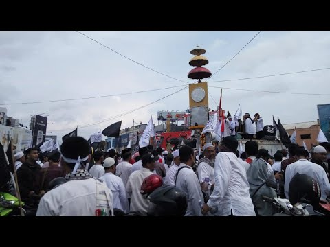 Umat Islam Lampung Gelar Aksi Bela Muslim Uighur