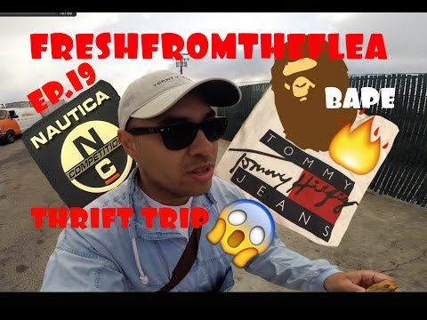 THRIFT TRIP EP.19 BAPE! TOMMY HILFIGER! NAUTICA!COPPED!!!