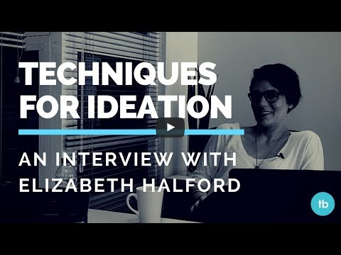 Techniques for Ideation // The whole interview