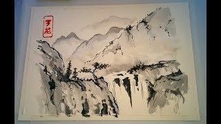 Japanese Landscape Painting