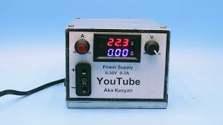 How to make adjustable power supply using ANY computer power supply unit