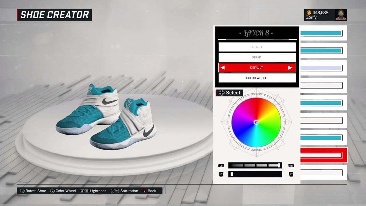 NBA 2K17 Shoe Creator - Nike Kyrie 2 \