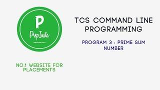 Tcs Command Line Programs