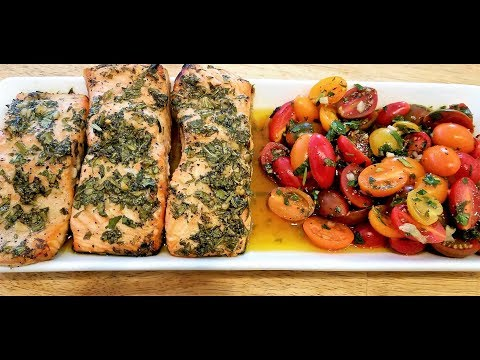 Garlic and Herb Marinated Salmon Recipe - Perfectly Cooked Salmon