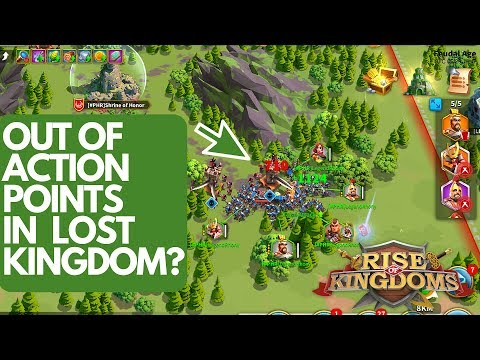 WHAT TO DO IF OUT OF ACTION POINTS IN LOST KINGDOM - Rise of Kingdoms