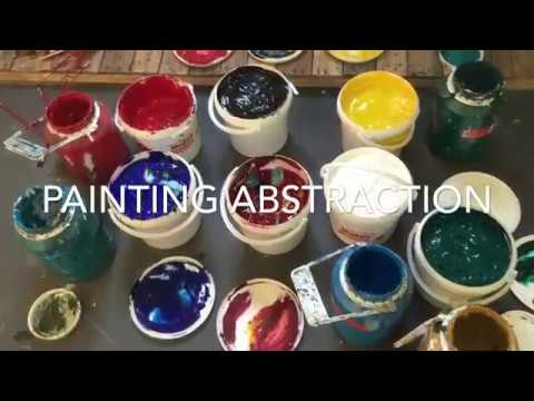 How to Paint Abstract Paintings – tips and secrets