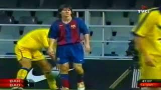 Lionel messi vs badalona (home) (fc barcelona b) 04-05