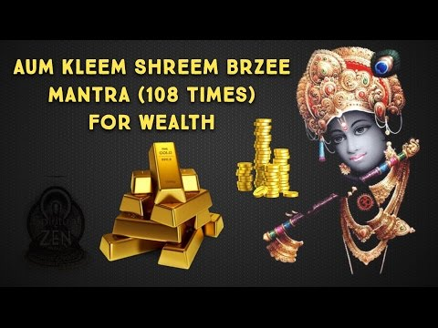 Aum Kleem Shreem Brzee Mantra Meditation 108x to Attract Wealth Fast!