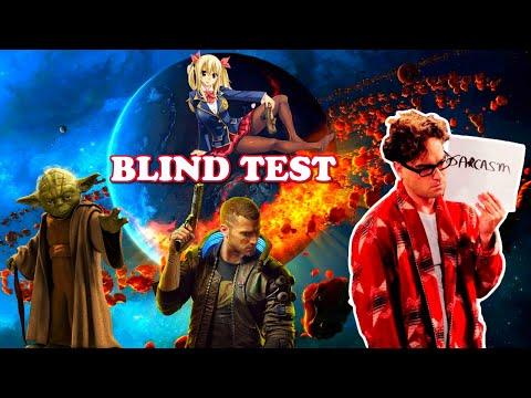BLIND TEST (Séries , Animés Jap , Jeux Vidéo , Films)