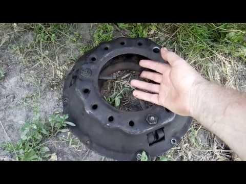 Как отрегулировать лапки корзины сцепления на ГАЗ 53 и Бензиновом ПАЗИКЕ.