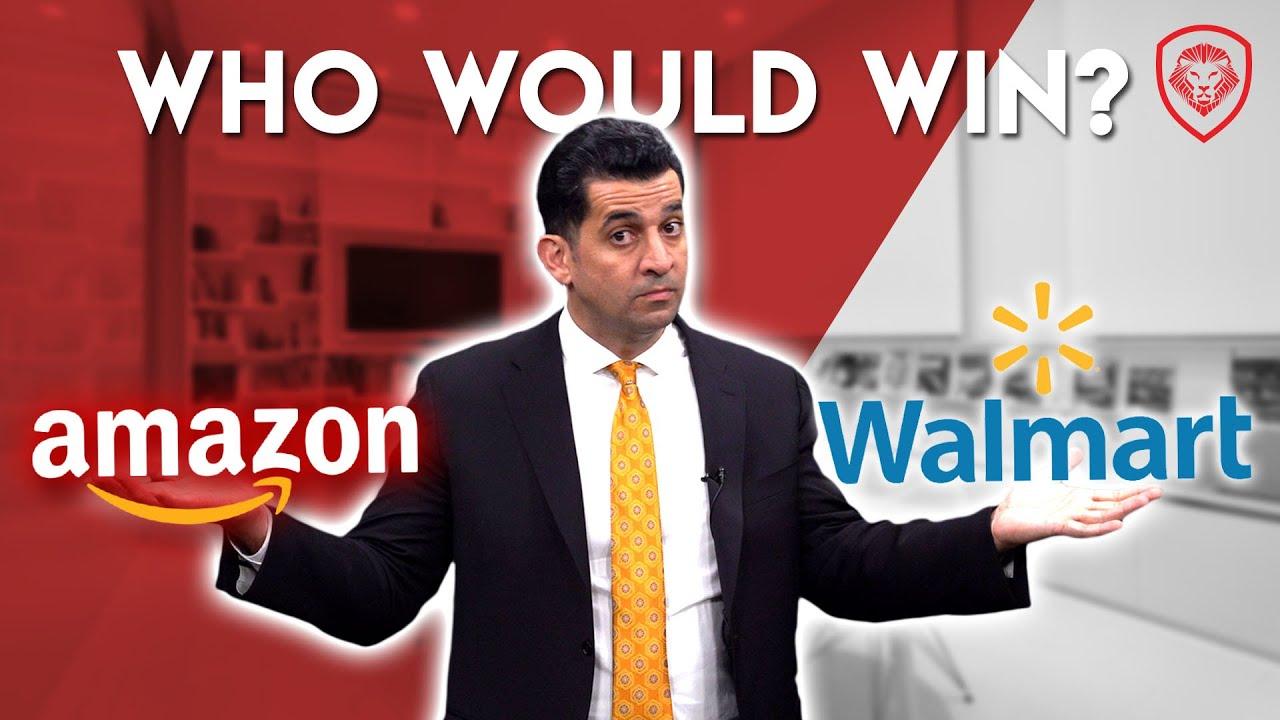 $5 Trillion War - Amazon vs. Walmart