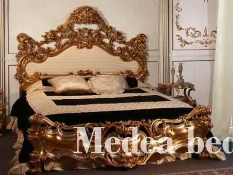 The dramatic gravitas of baroque furniture lives on in the Medea bed