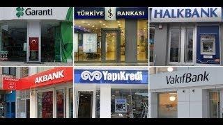 Türkiye'nin En Büyük 15 Bankası ( GÜNCEL 2019)