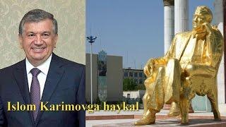 Islom Karimov haykali