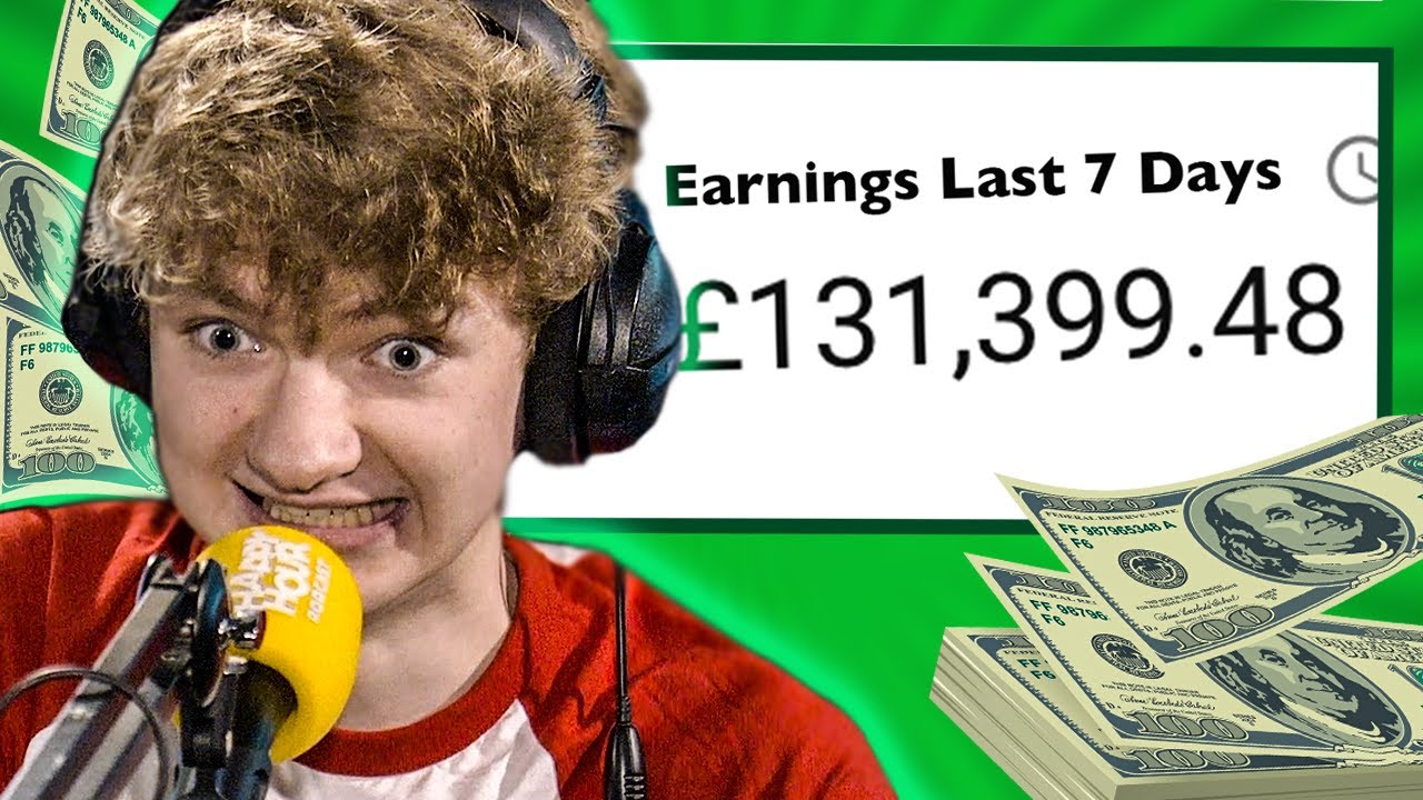 TommyInnit Talks YouTube Money 🤑