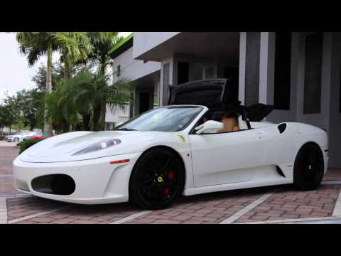 2008 Ferrari F430 Spider F1 For Sale, with drive by, and exhaust