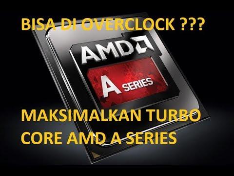CARA MENGAKTIFKAN AMD TURBO CORE (menggunakan BAR EDIT)