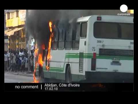 Protests in Ivory Coast