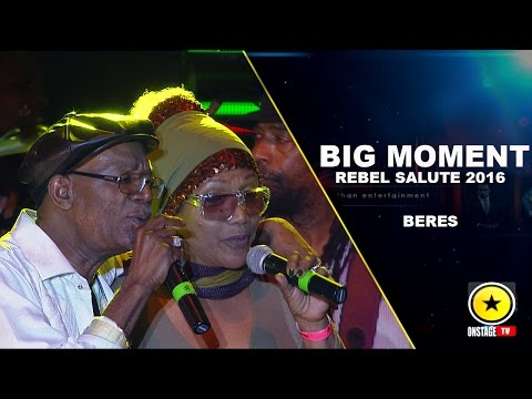 Beres Hammond: Big Moment With Marcia Griffiths- Rebel Salute 2016