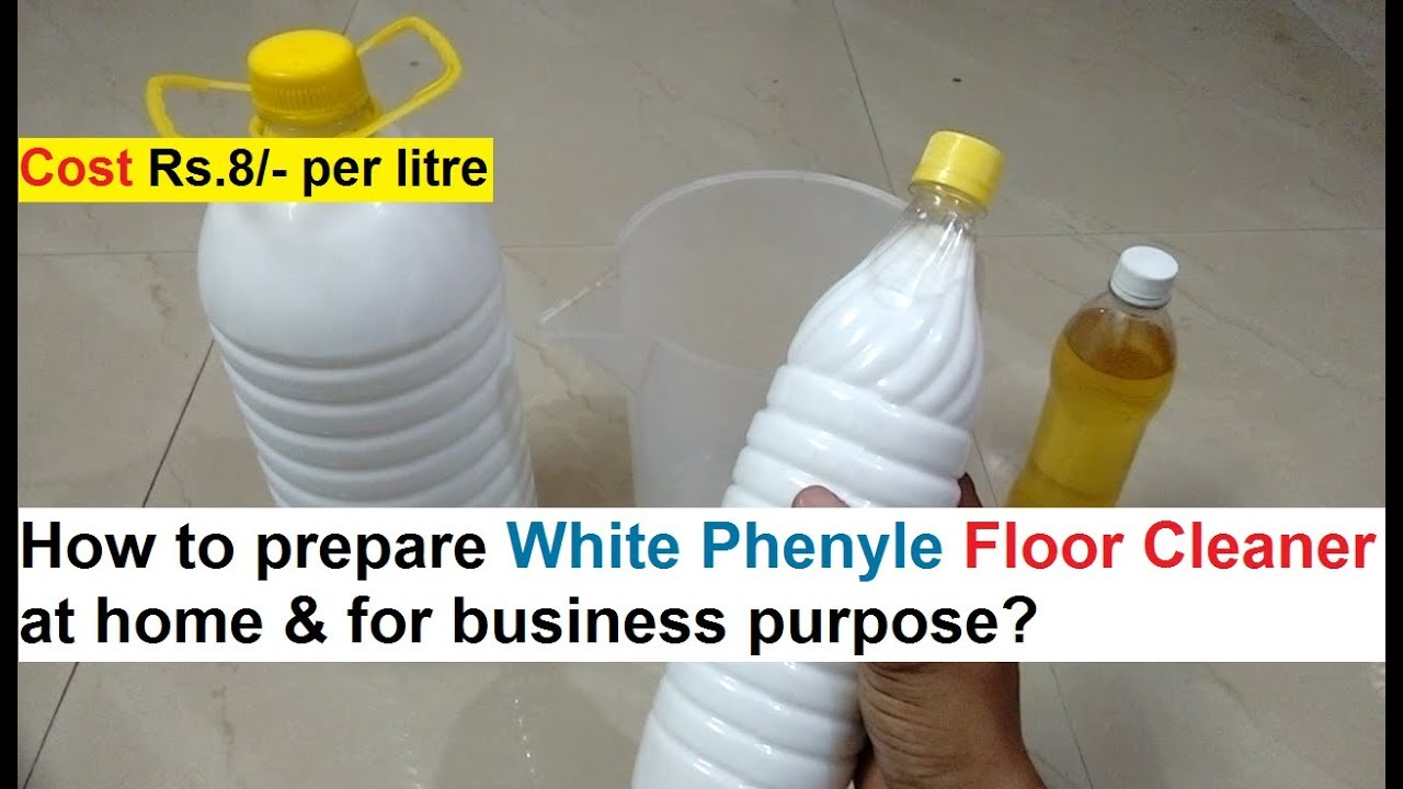 8 Guides to Making Phenyl Business at Home