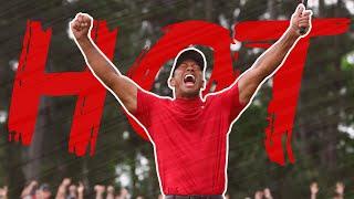 Tiger Woods 'hot