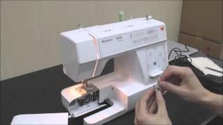 Видео обзор швейной машины HUSQVARNA Viking E20