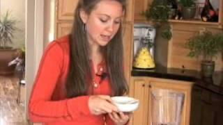 Superfoods With Jules: Indigo Granita Dessert