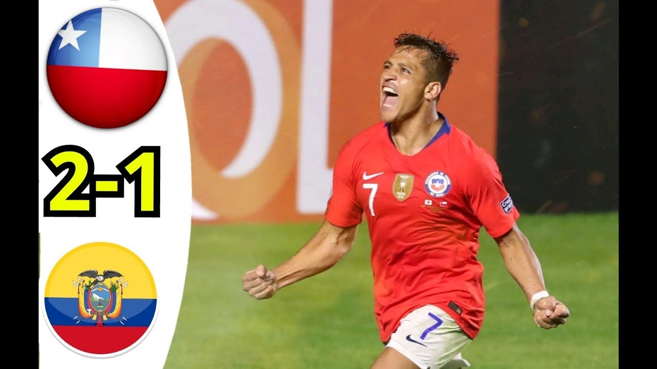 Download Ecuador Vs Chile All Goals & Extended Highlights copa America 2019 HD