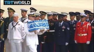 The Trump Presidency: Remains of Korean War soldiers returned to US