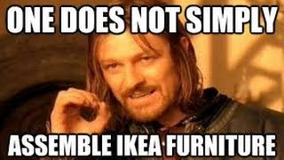 Furniture Assembly ( Ikea )