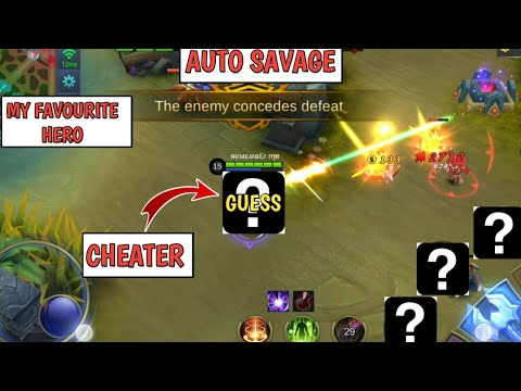 AUTO SAVAGE   CHEATER?   GUESS WHO   MOBILE LEGENDS TV